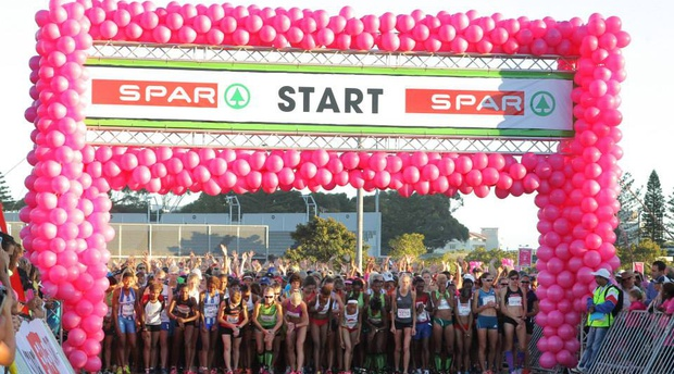 Spar Women's Race in Cape Town - book your entries and accommodation for 2020