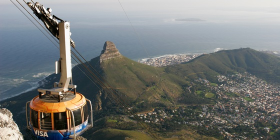 Table Mountain, Kirstenbosch, Groot Constania, and Waterfront Tour